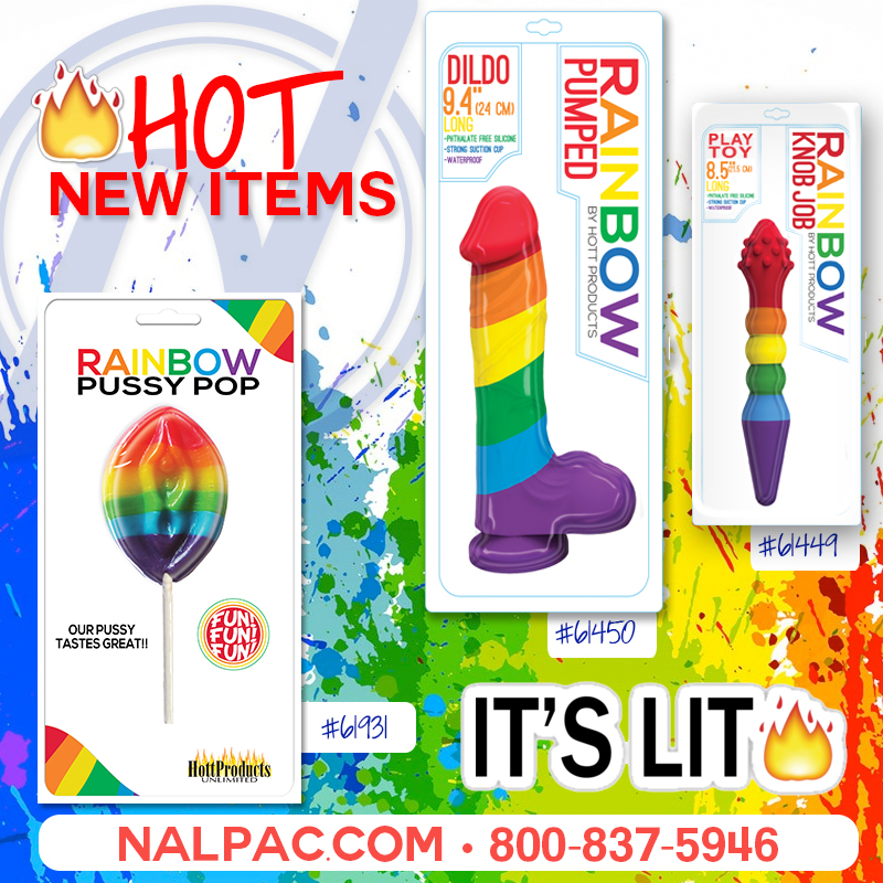 New From Hott Products · Nalpac